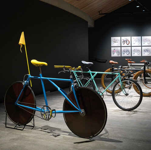 Gianluca Gimini turns bicycles drawn from memory into 3D renders for 'Velocipedia'