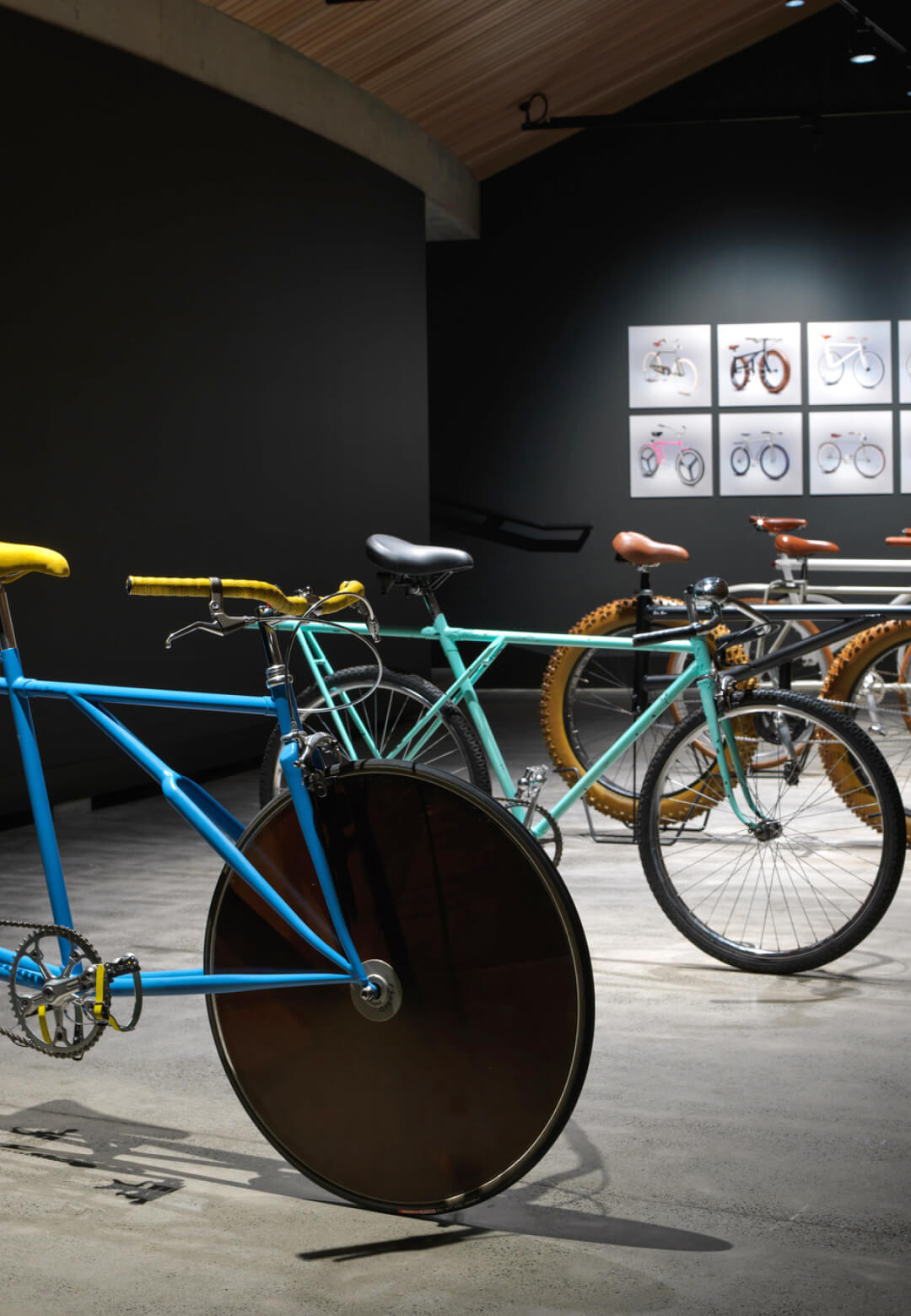 Velocipedia IRL exhibition displays prototypes of five bicycles out of the 376 sketches | Velocipedia | Gianluca Gimini | STIRworld