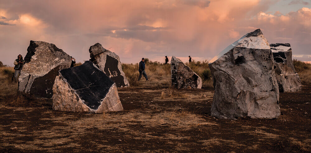 Haroon Mirza discusses <em>Stone Circle</em> at Ballroom Marfa, shares unheard anecdotes