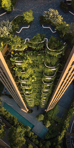 Heatherwick Studio reimagines 'city in a garden' with EDEN tower in Singapore