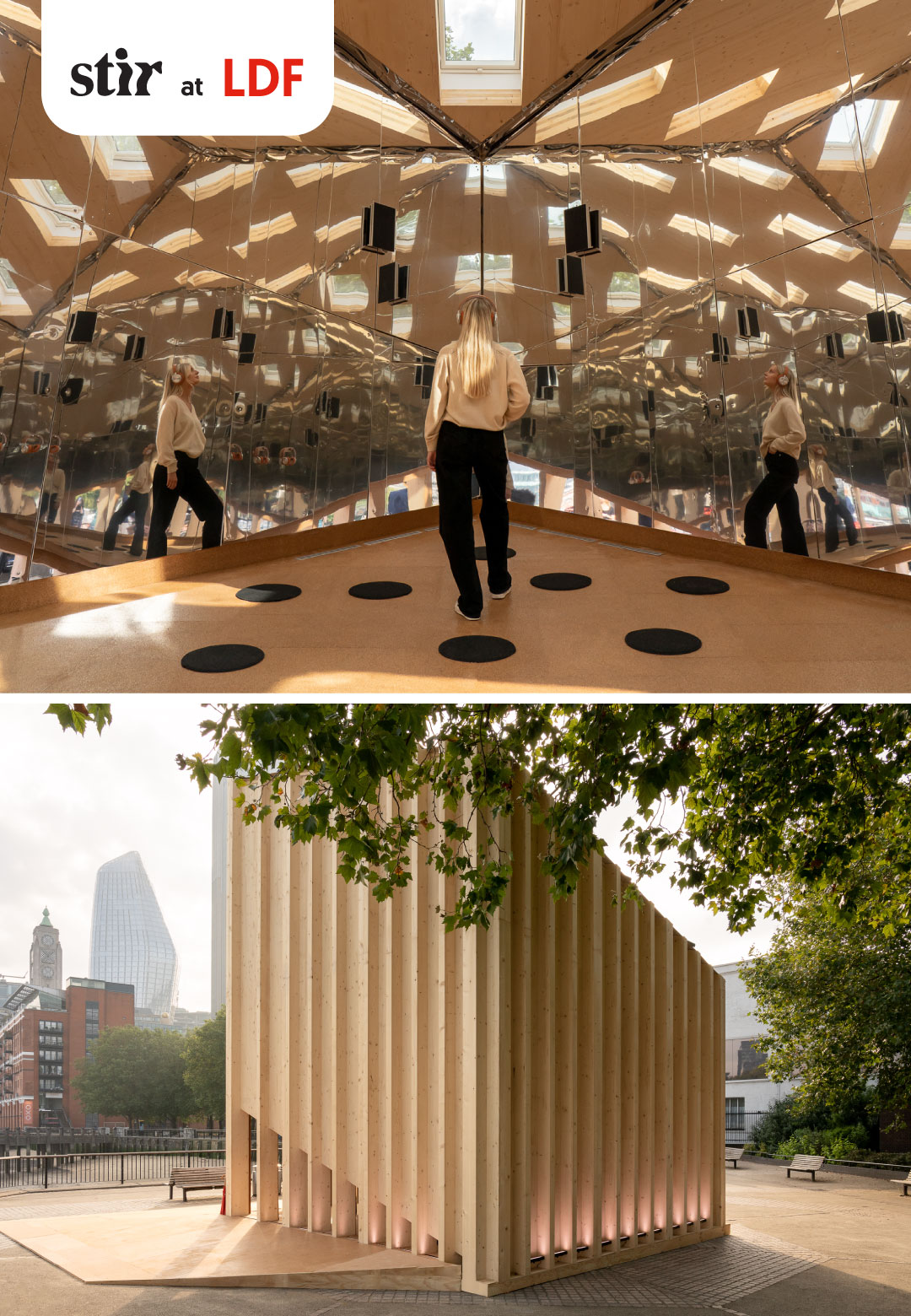 The Cube by Henning Larsen and VELUX   The Cube Installation at London Design Festival 2021   STIRworld