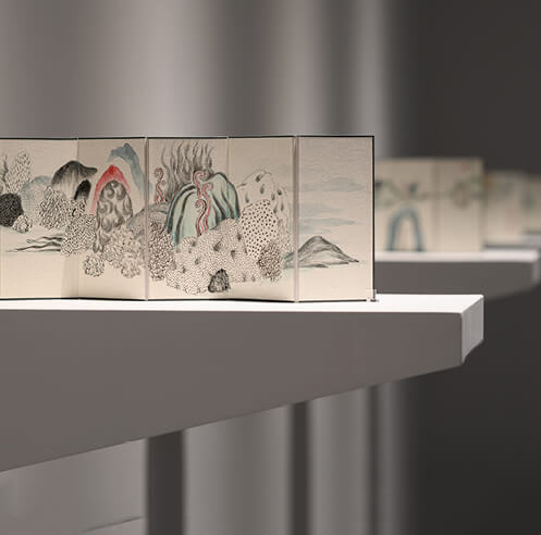 &lsquo;Hidden Emotion in Texture&rsquo; presents a new perspective on ancient <em>shanshui</em> painting