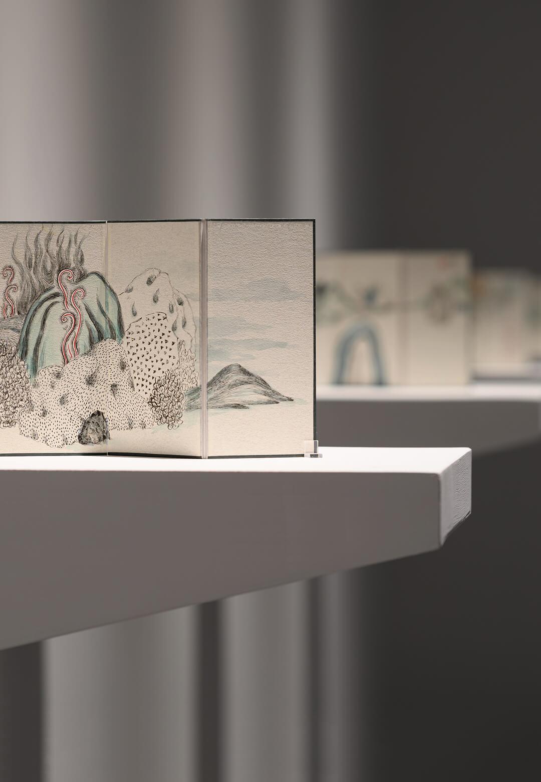 Installation view of <em>Hidden Emotion in Texture</em> at Tina Keng Gallery   Yuan Hui-Li   STIRworld