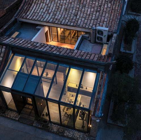 Old meets new: An ancestral rammed earth home in rural China turned into a homestay