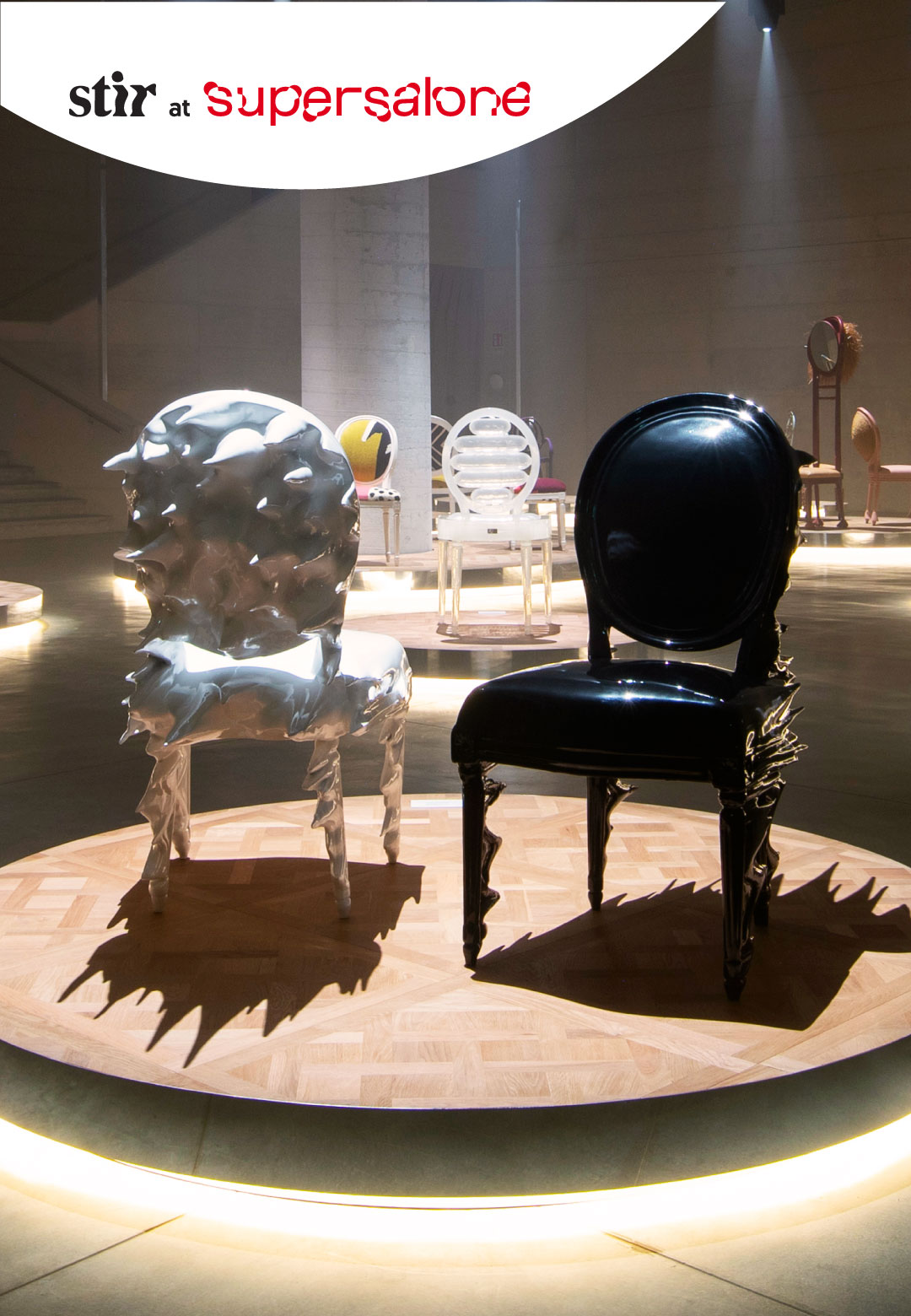 Iconic Dior Medallion chair reimagined by 17 artists and designers at Supersalone | The Dior Medallion chair reimagined at Milan Design Week 2021 | STIRworld