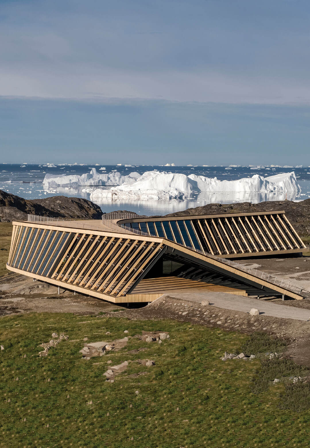 Ilulissat Icefjord Centre by Dorte Mandrup sits light on the edge of a UNESCO-protected Greenland wilderness | Ilulissat Icefjord Centre by Dorte Mandrup | STIRworld
