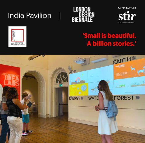 India Pavilion at LDB 2021 features a digital wall with over 200 unique narratives