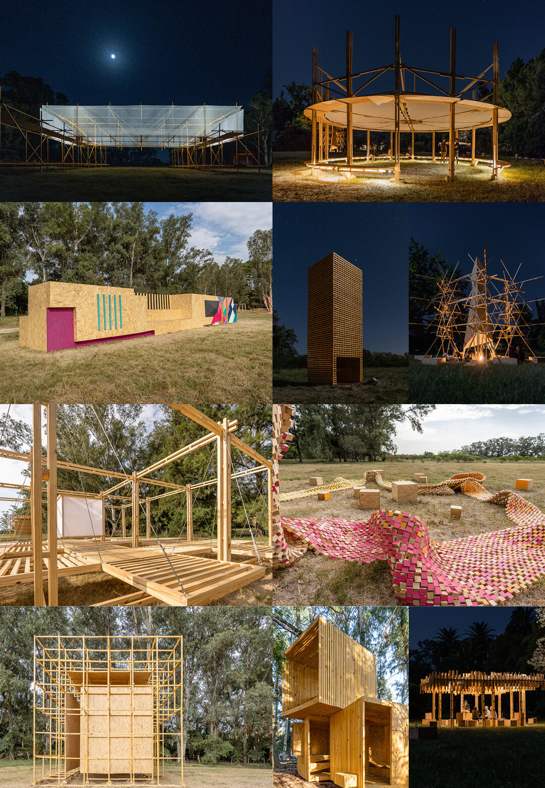 Ten project installations created at the Hello Wood Festival 2020 | Hello Wood Festival | Installations in Wood | STIRworld