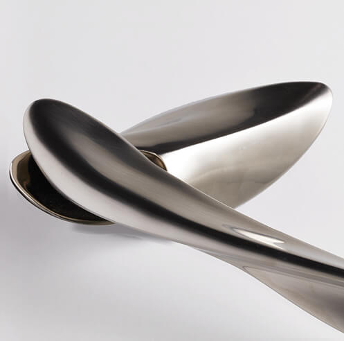 izé launches NEXXA, the sinuously created door handles by Zaha Hadid Design