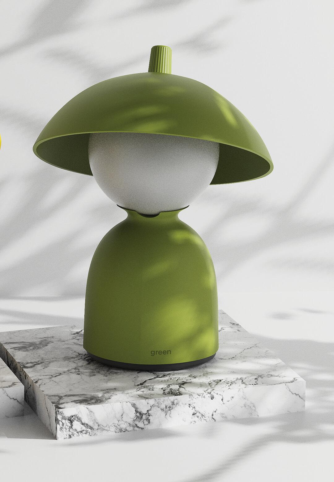 South Korean industrial designer Jaekyoung Oh conceptualises the Woo-bi desk lamp | Woo-bi Lamp by Jaekyoung Oh | STIRworld
