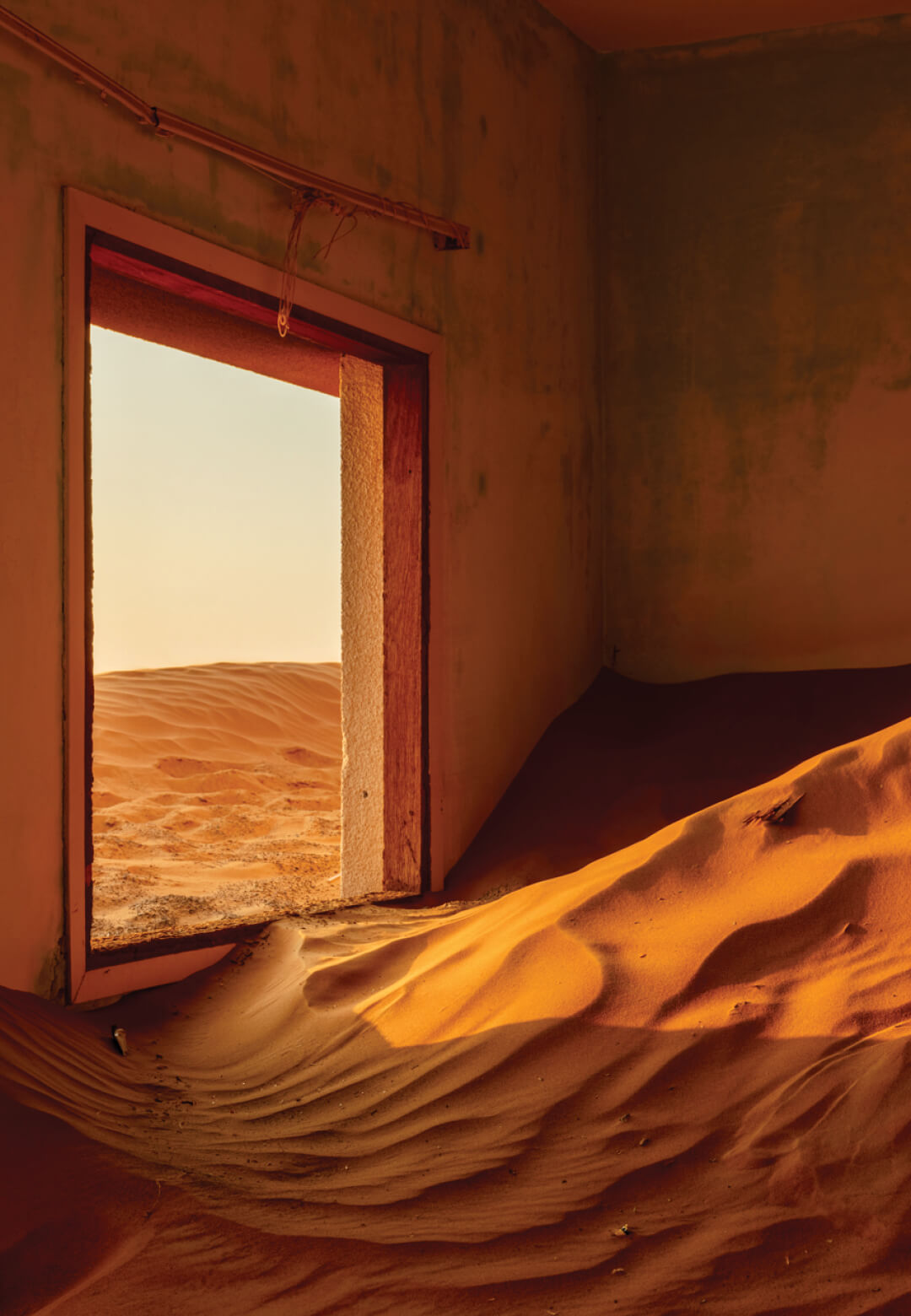 James Kerwin captures the orange glow within Al Madam in UAE for his Uninhabited series | Uninhabited series by James Kerwin | STIRworld