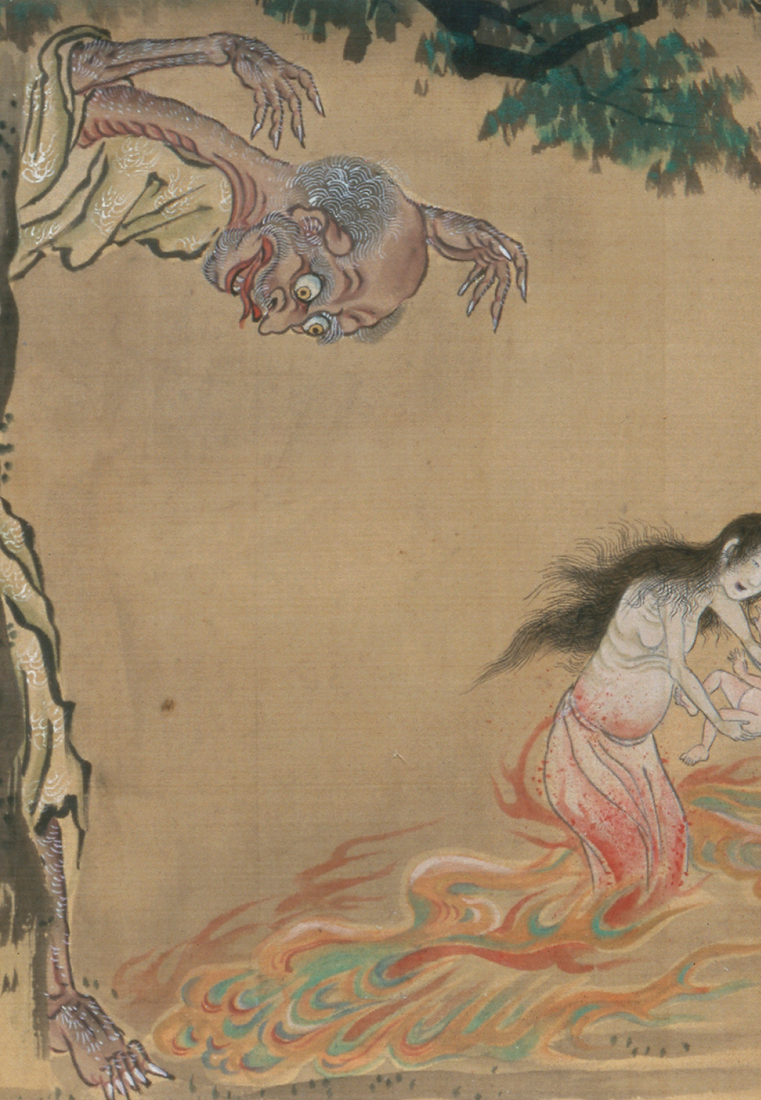 'Night procession of the hundred demons', a tale by Hyakki Yagyô | Japan Supernatural | Museum of Fine Arts, Boston / Art Gallery of New South Wales | STIRworld