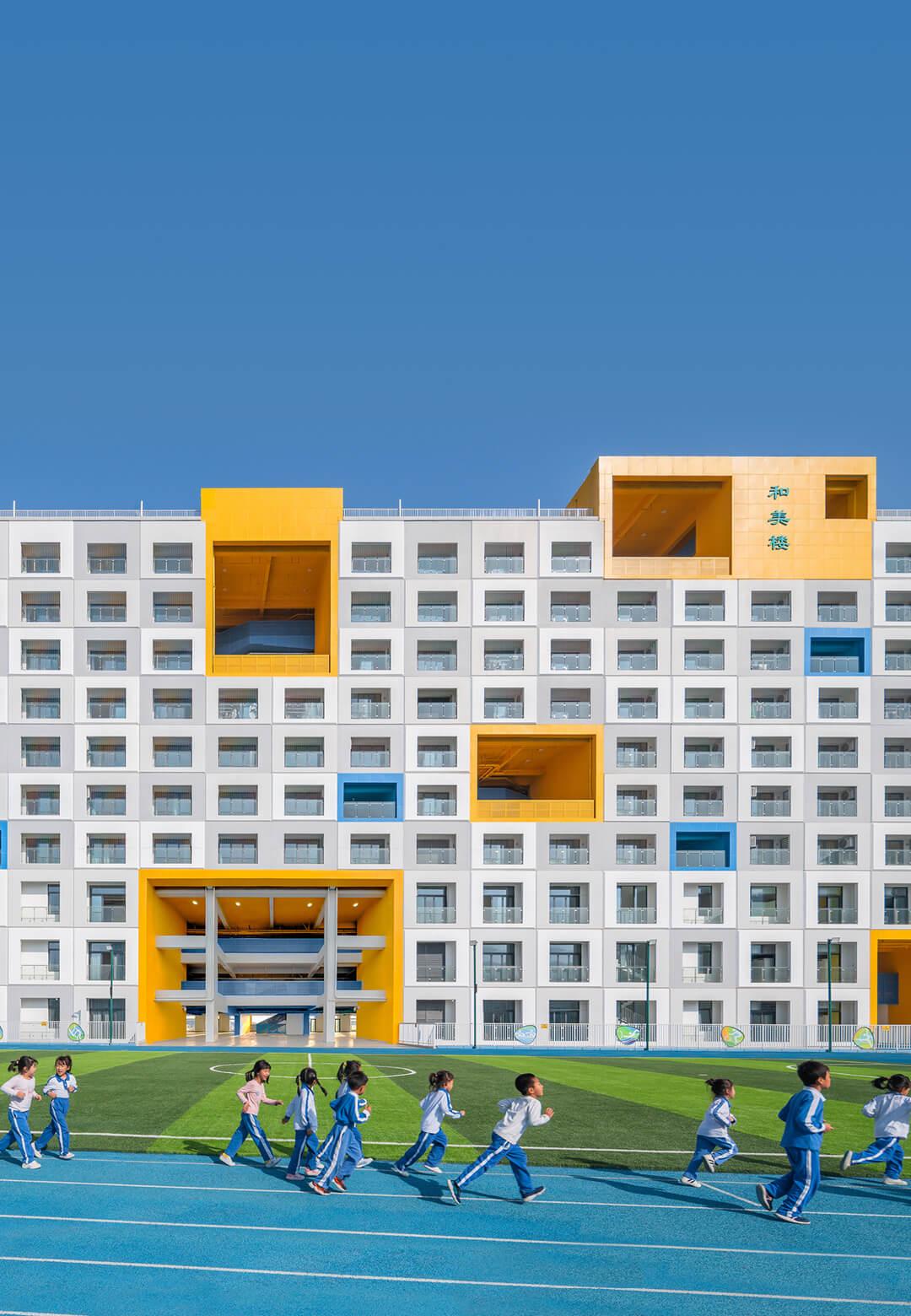 Jinlong Prefab School | Crossboundaries | Shenzhen, China | STIRworld