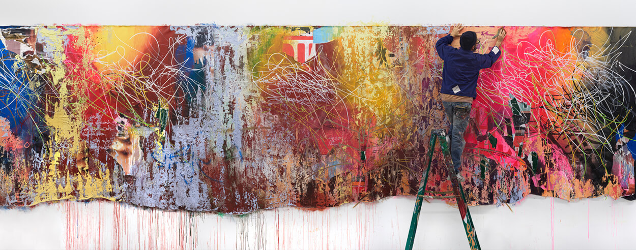 José Parlá's exhibition 'It's Yours' questions who the Bronx belongs to