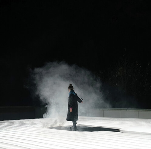 Karolina Halatek discusses her experiential light installation <em>Field</em>