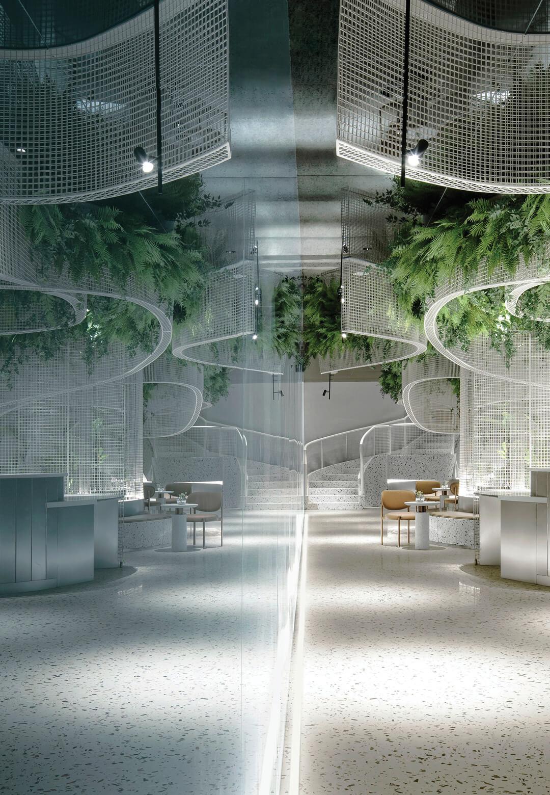 Vista Café designed by Karv One Design | STIRworld