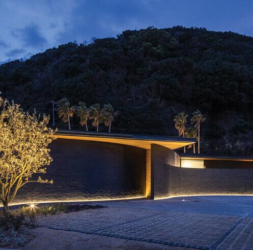 Kawazoe Architects infuses serendipity inside River Sea residence in Japan