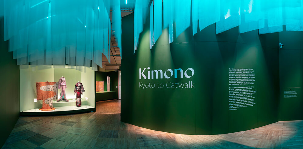 'Kimono: Kyoto to Catwalk' bridges the sartorial aesthetics of East and West