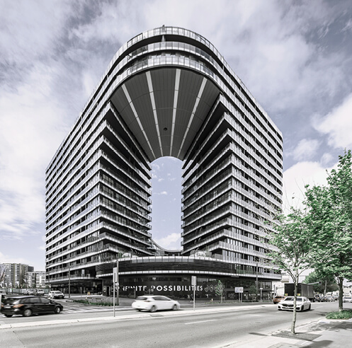 Koichi Takada Architects' building Infinity in Sydney 'climatises' architecture