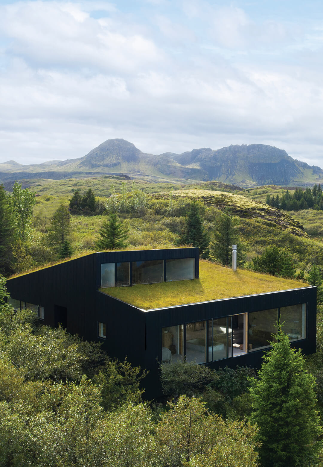 Designed by KRADS, the home harmoniously complements the natural landscape | KRADS | Iceland | STIRworld