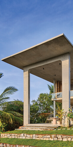 <em>Ksaraah</em> by Taliesyn is an ever-morphing exhibit of its concrete volumes and voids