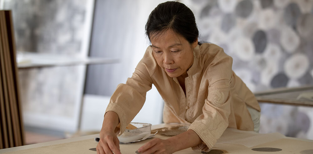 Langen Foundation celebrates top artists of Korean abstraction and Dansaekhwa