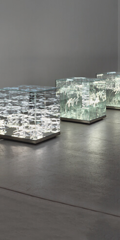 Light art of multidisciplinary artist Brigitte Kowanz evokes poetic emotions