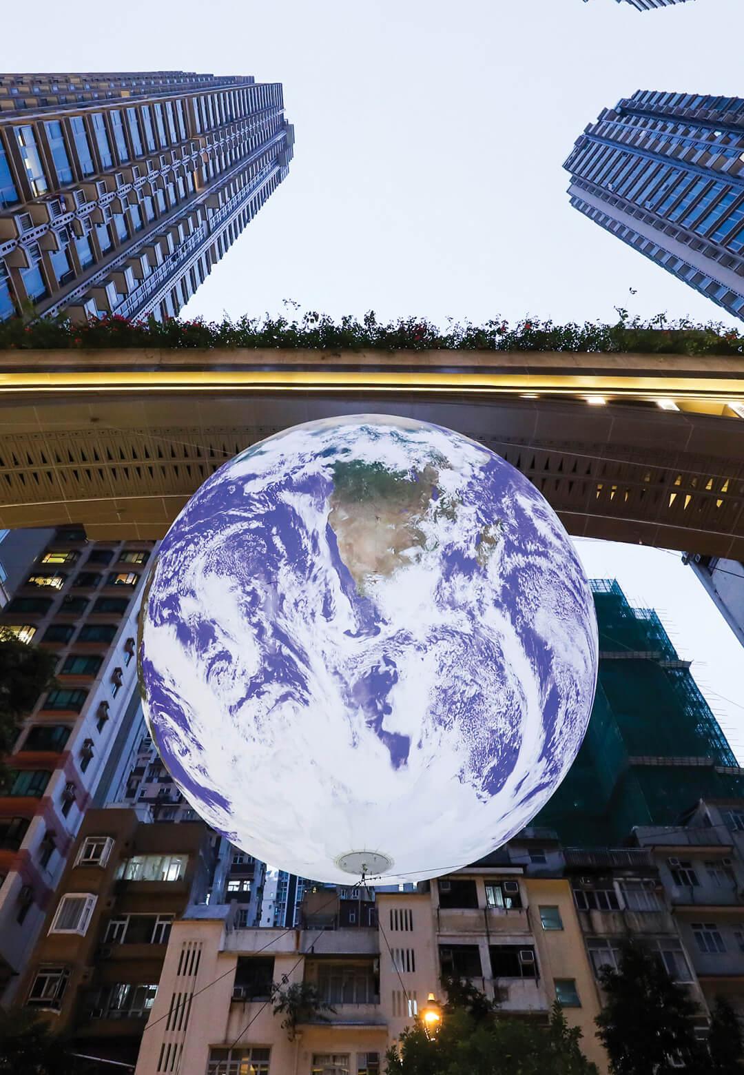 Gaia, Hong Kong | Luke Jerram | STIRworld