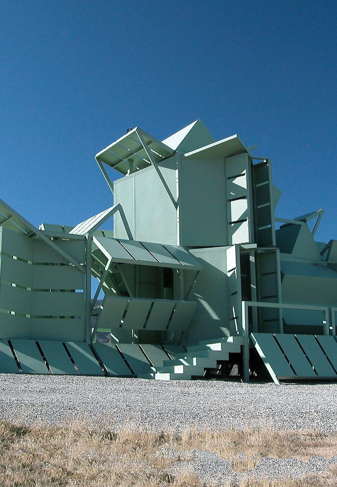 Michael Jantzen's M-House can be assembled into multiple configurations | M-House by Michael Jantzen | STIRworld