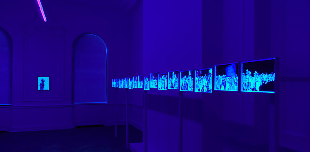 Marc Brandenburg's exhibition 'Snowflake' explores life at the fringes of society