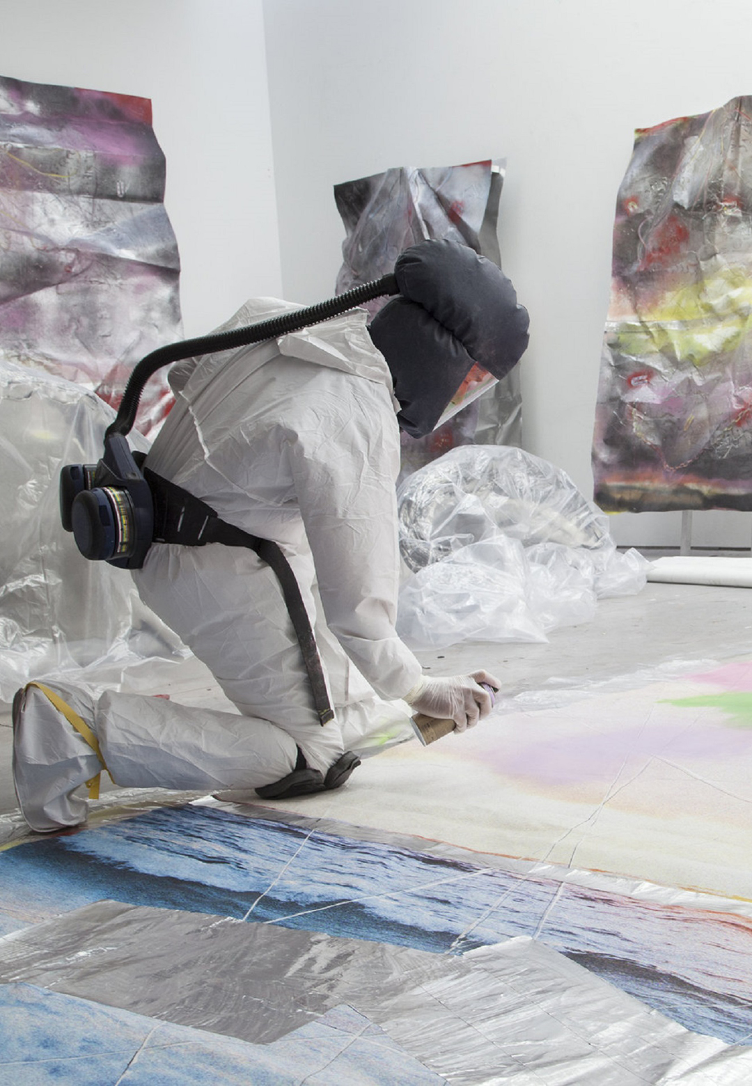 Marc Quinn working in his studio | Our Blood | Marc Quinn | STIRworld