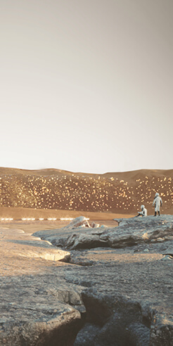 Mars' first planned city Nüwa is resilient and self-sustaining