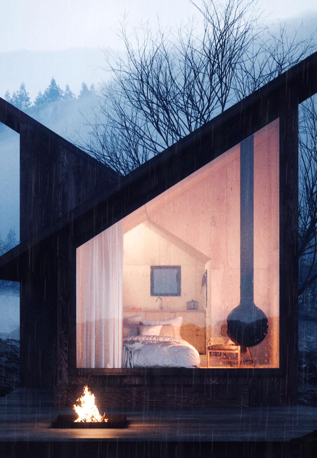 Mountain Refuge by Massimo Gnocchi and Paolo Danesi | STIRworld