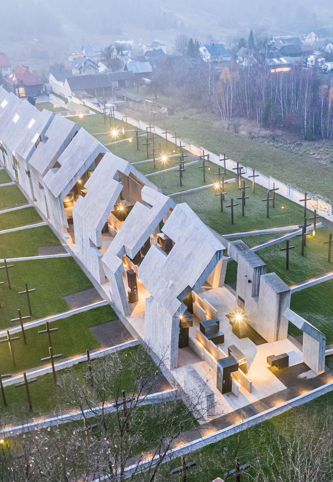 Mausoleum of the Martyrdom of Polish Villages in Michniów, Poland, by Nizio Design International | Mausoleum of the Martyrdom of Polish Villages in Michniów by Nizio Design International | STIRworld