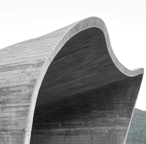 MoDus Architects design a curvilinear portal for a ring road project in Italy
