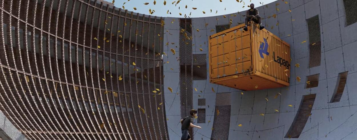 M:OFA Studios imagines a junior school in India like a subterranean 'soft fortress'