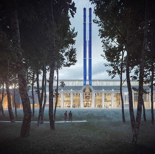 RPBW renovates Moscow's power station GES-2 into a civic cultural space