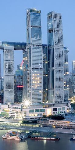 Moshe Safdie's Raffles City Chongqing humanises skyscraper architecture