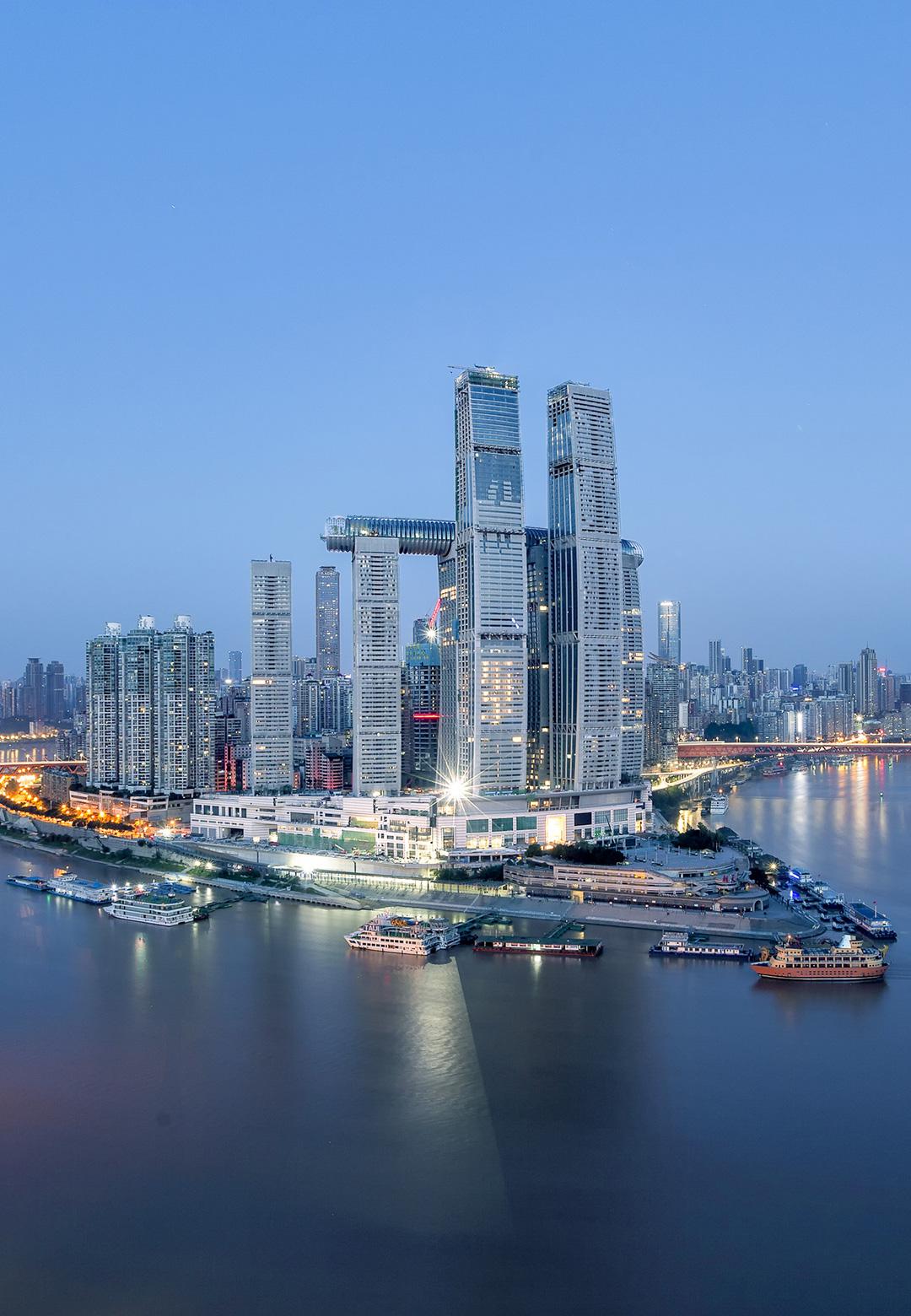 Raffles City Chongqing, China | Safdie Architects | Moshe Safdie | STIRworld