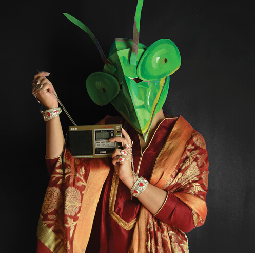 Multimedia artist Aamina Hammad discusses her new series 'Beautiful Heads'