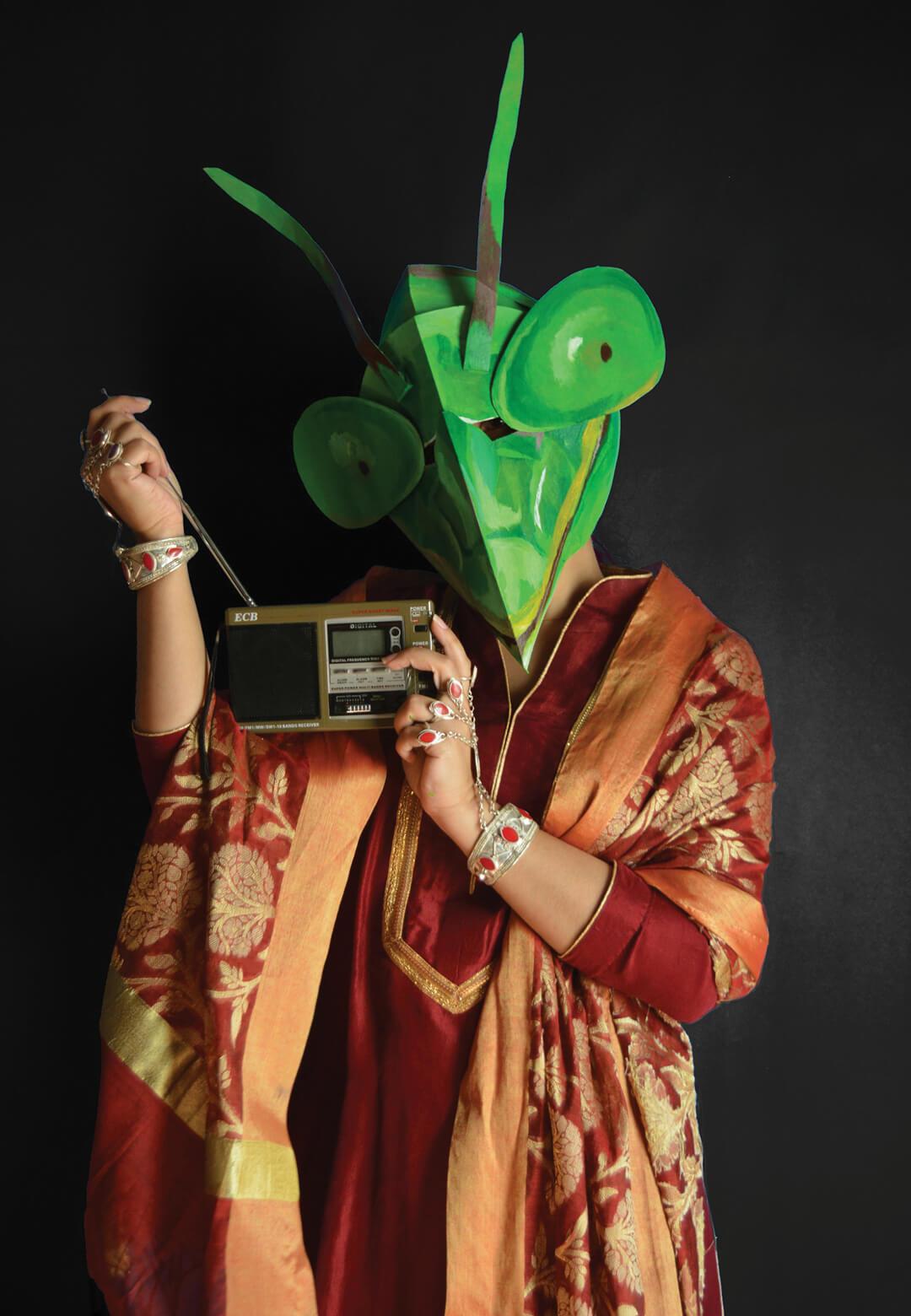 An image from Aamina Hammad's portrait series | Beautiful Heads by Aamina Hammad | STIRworld