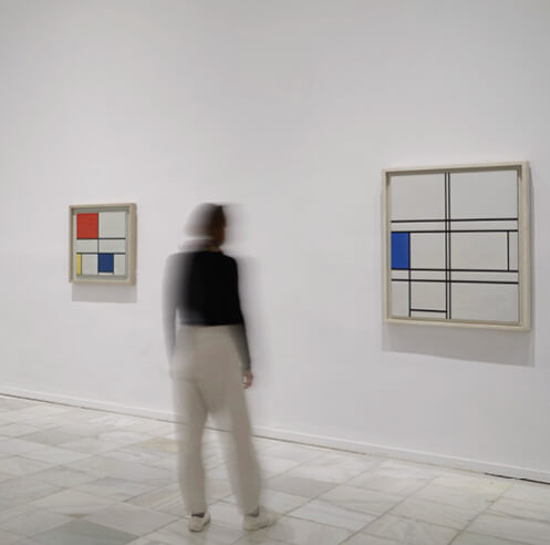 Museo Reina Sofia remembers Piet Mondrian and De Stijl