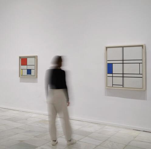 Museo Reina Sofia remembers Piet Mondrian and De Stijl