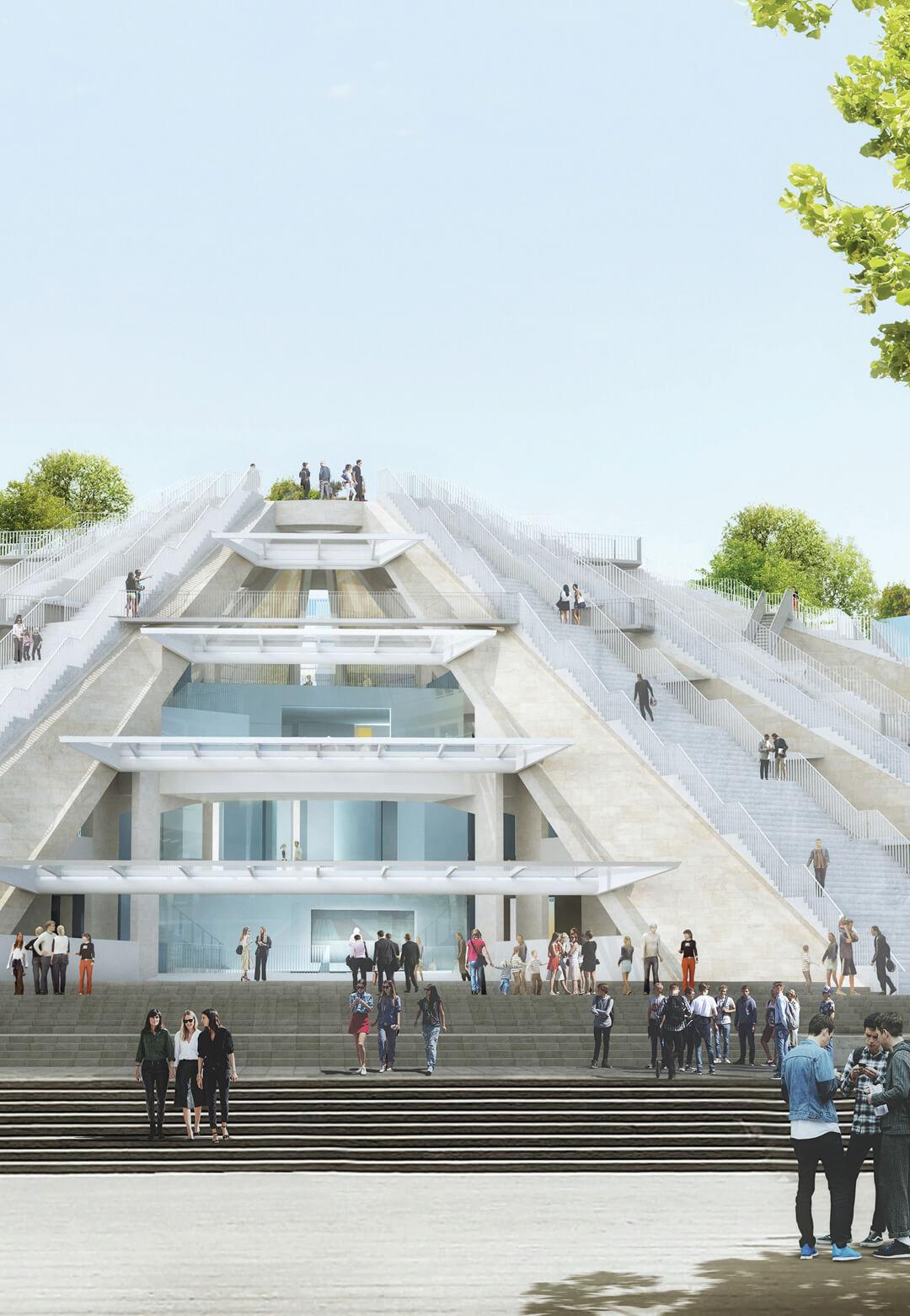 MVRDV will renovate the Pyramid of Tirana in Albania| Pyramid of Tirana designed by MVRDV | STIRworld