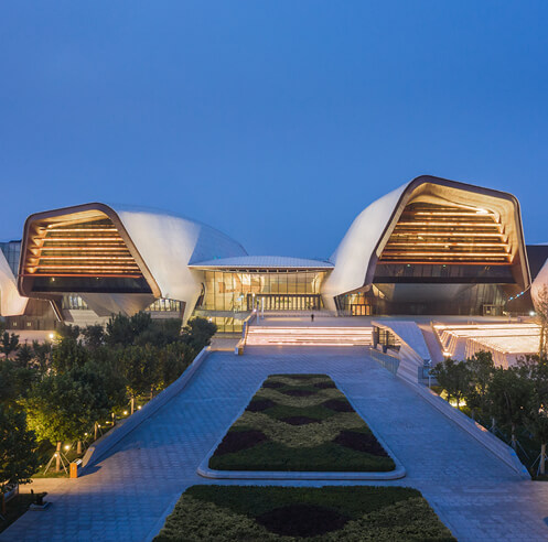 National Maritime Museum of China by COX Architecture traces its marine heritage