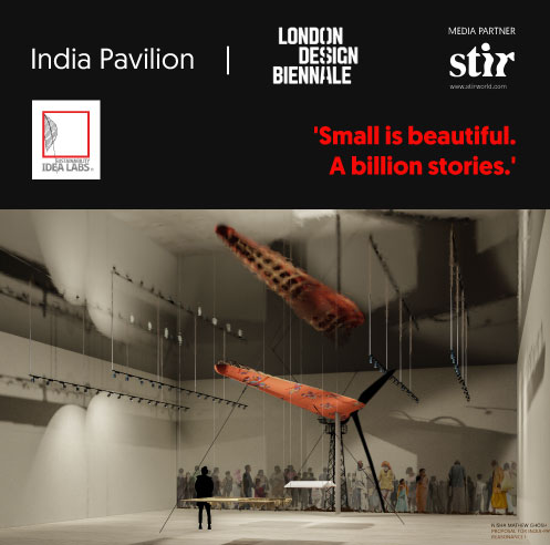 Nisha Mathew Ghosh on 'Small is Beautiful' at London Design Biennale 2021