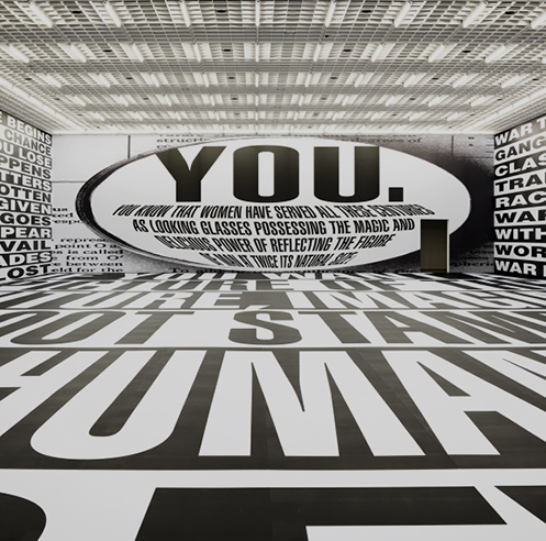 No promise of 'forever' in Barbara Kruger's provocative show in Seoul