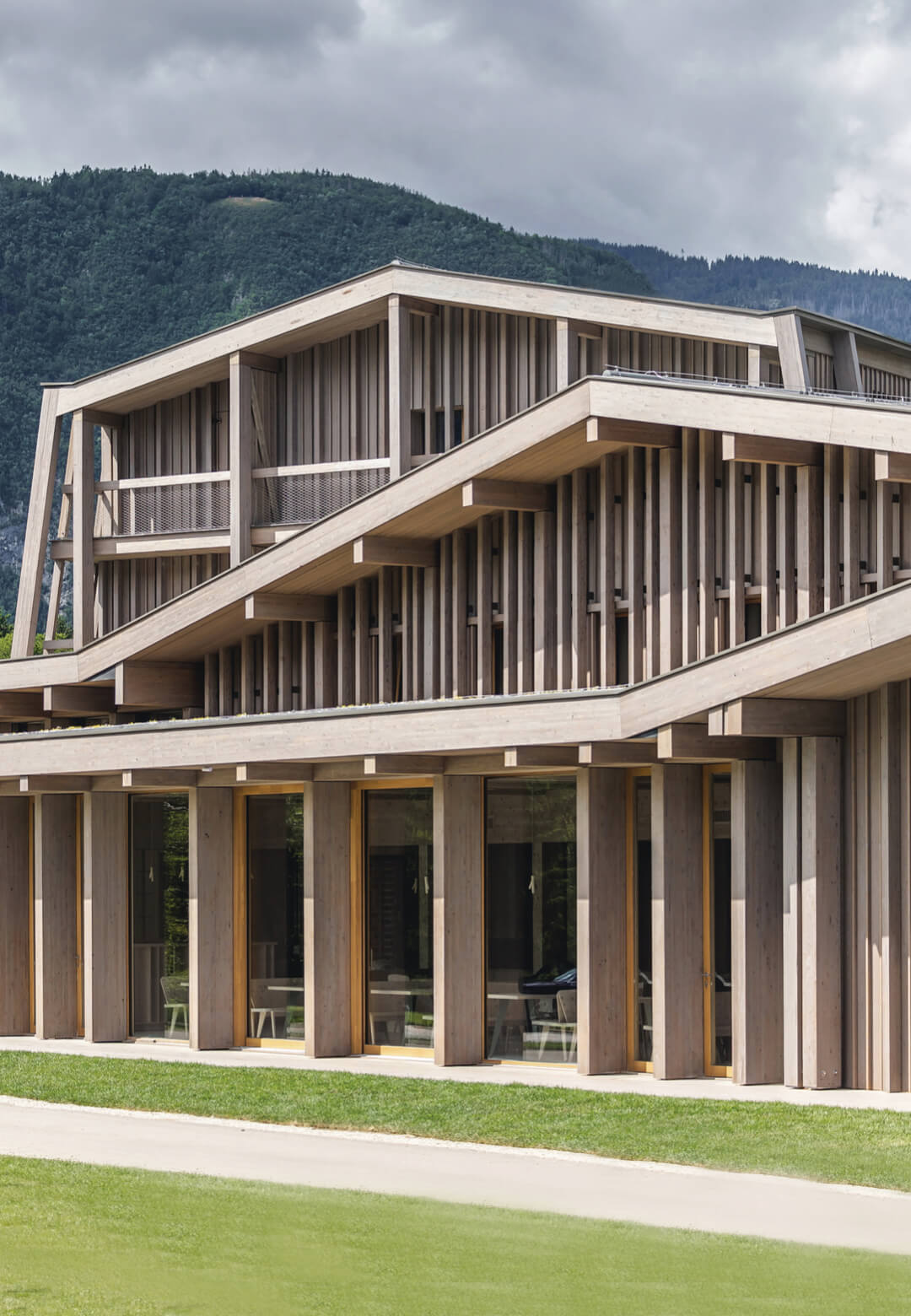 OFIS Architects have renovated Hotel Bohinj within Triglav National Park in Slovenia   Hotel Bohinj Revitalisation by OFIS Architects   STIRworld