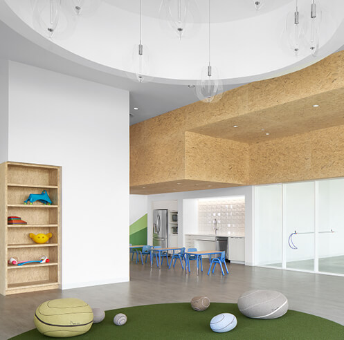 Nurturing autistic children, 'One of the Kids' in Austin adopts natural design as therapy