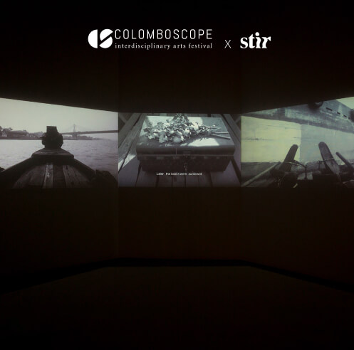 Palash Bhattacharjee's 'Link Road' connects dialect and time at Colomboscope 2021